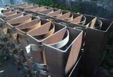 Скользящие хомутовые опоры для трубопроводов