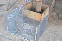 Железная банная печь Мини (аналог банной печи Радуга)